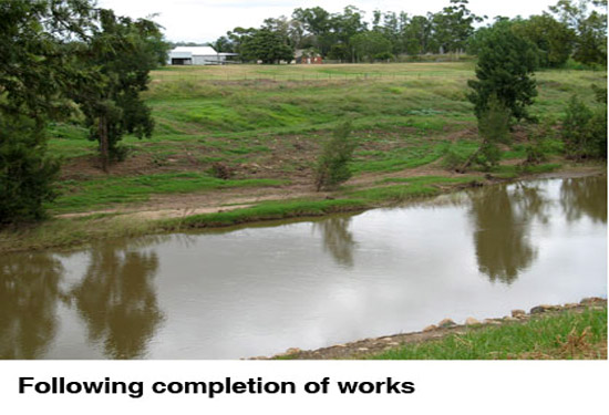 hunter River rehabilitation after